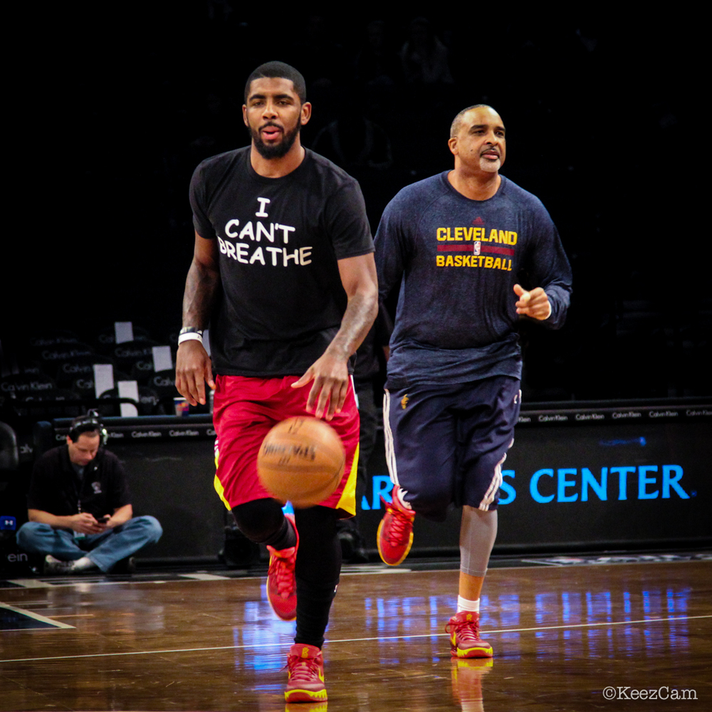 Kyrie Irving & Phil Handy