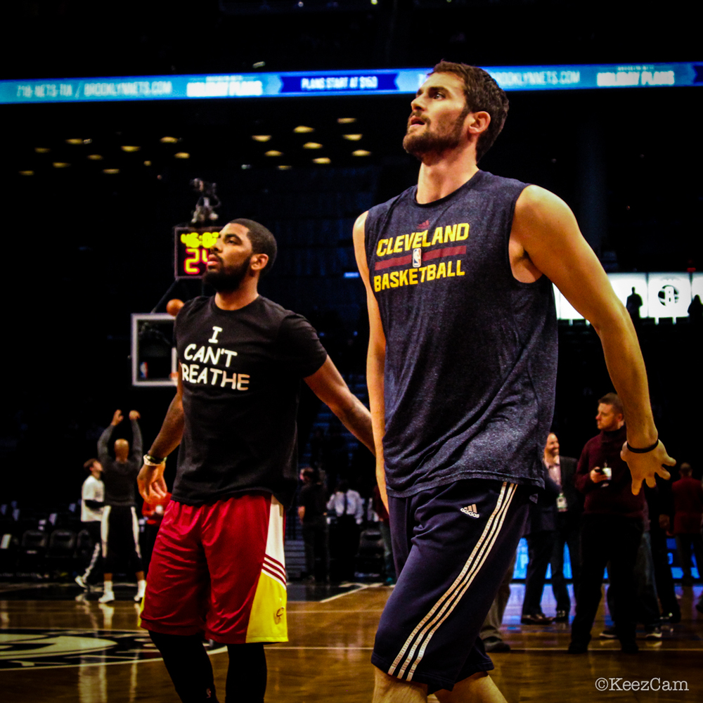 Kyrie Irving & Kevin Love