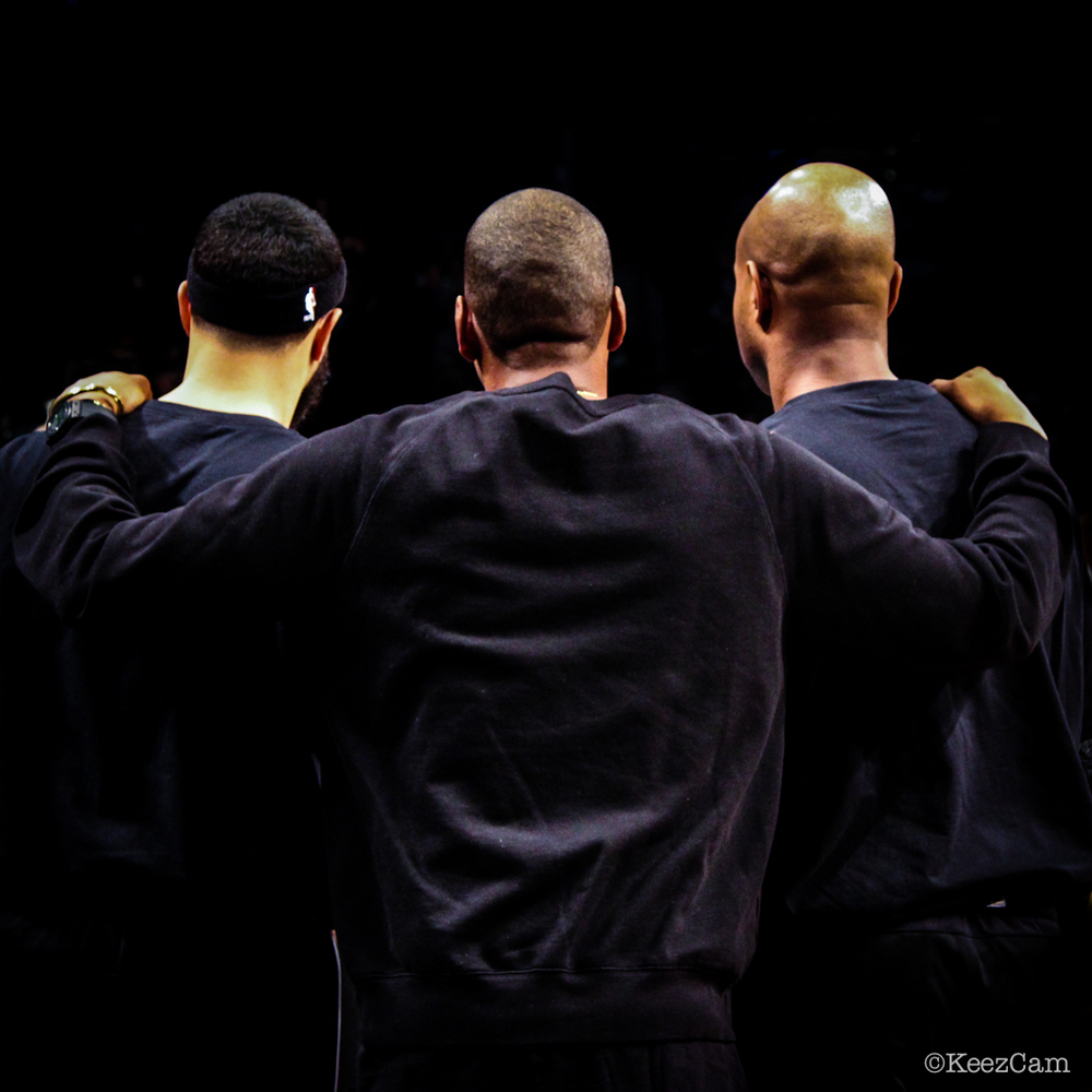 Deron Williams , Shawn Carter & Jarrett Jack