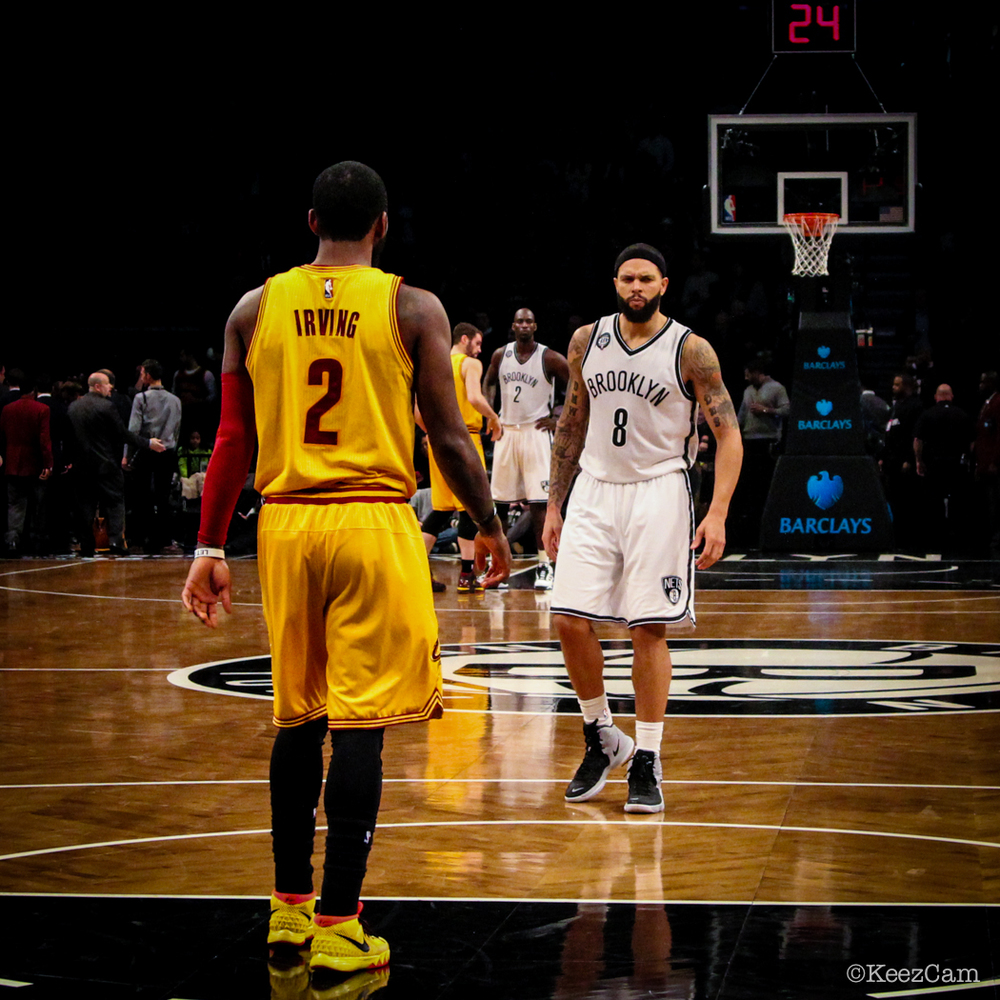 Kyrie Irving & Deron Williams