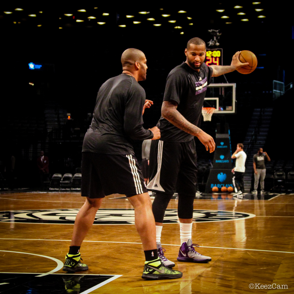 Corliss Williamson & DeMarcus Cousins