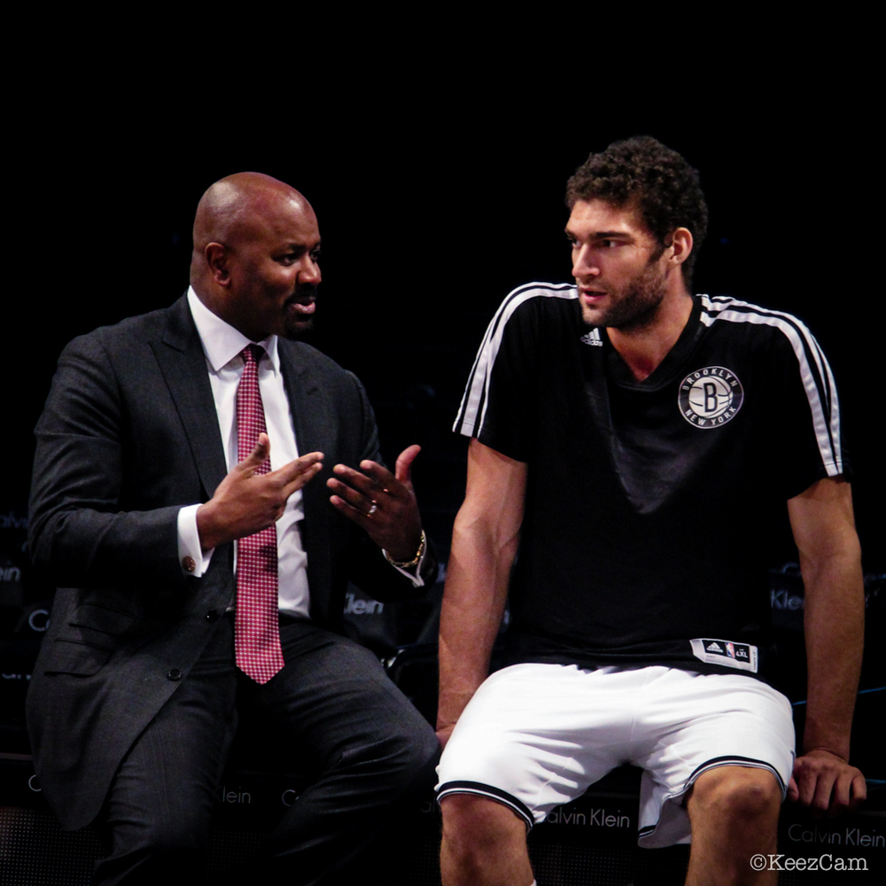 Billy King & Brook Lopez