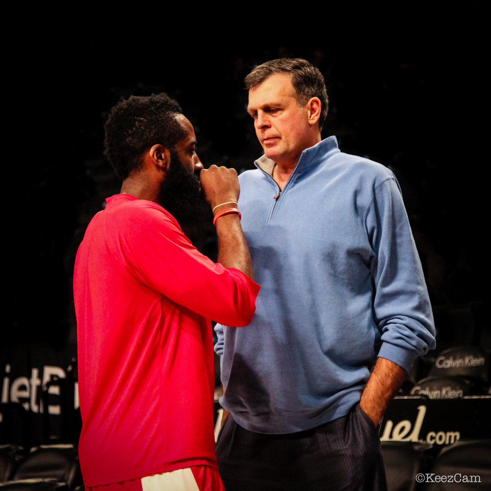 James Harden & Kevin McHale