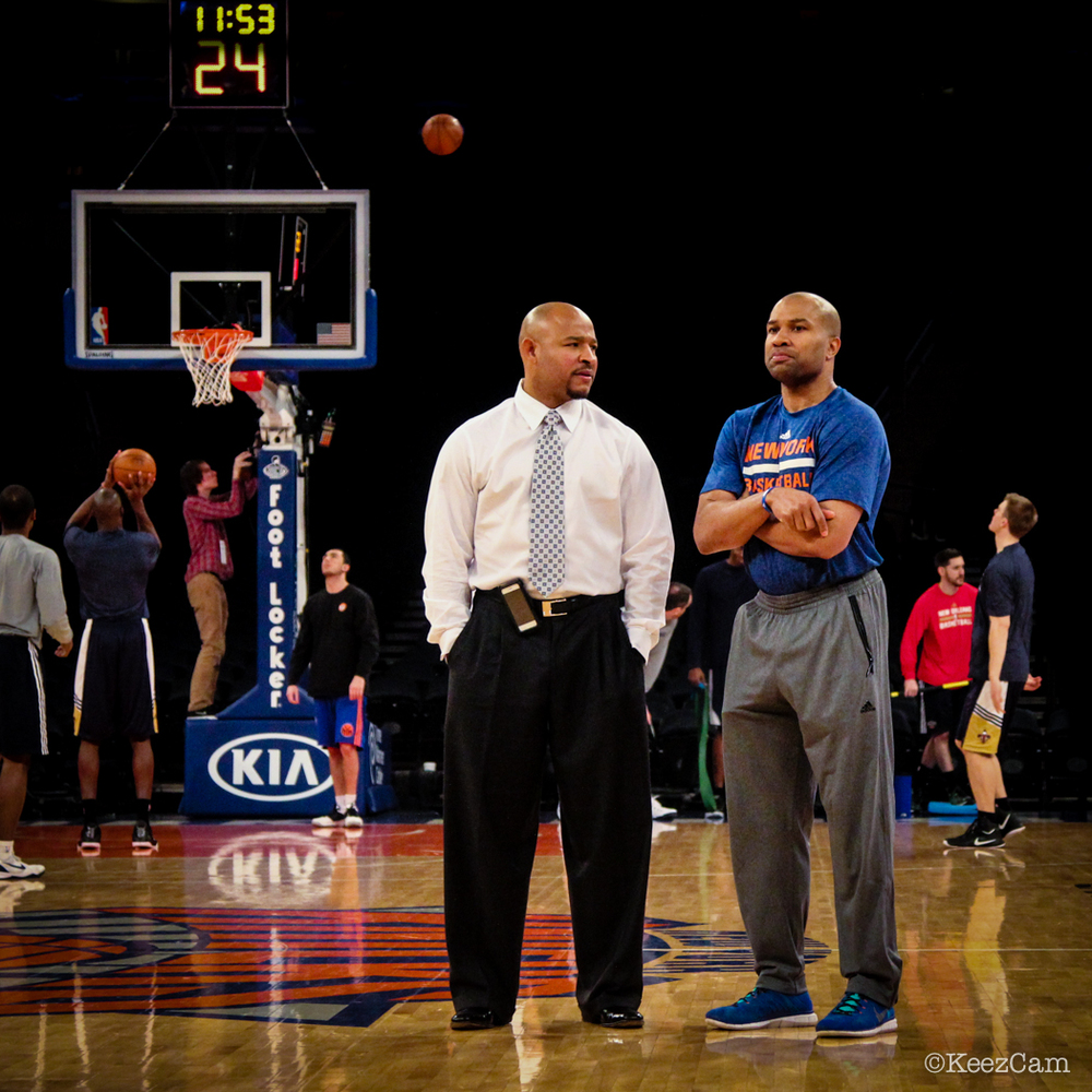 David Wesley & Derek Fisher
