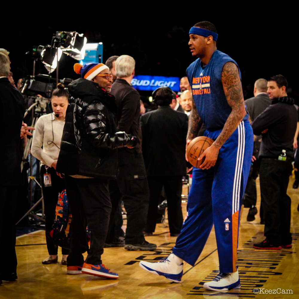 Spike Lee & Carmelo Anthony