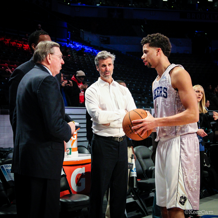 Rod Thorn & Michael Carter Williams