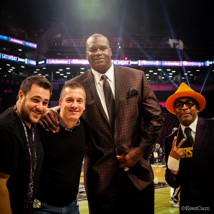 Anthony Causi, Al Palagonia, Shaq & Spike Lee