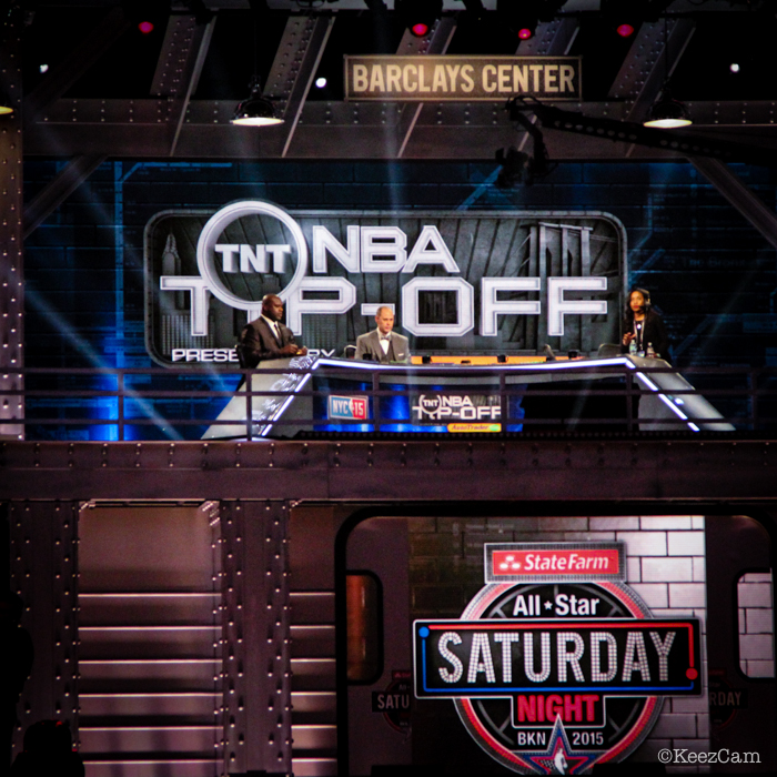 NBA Studio set up in Brooklyn
