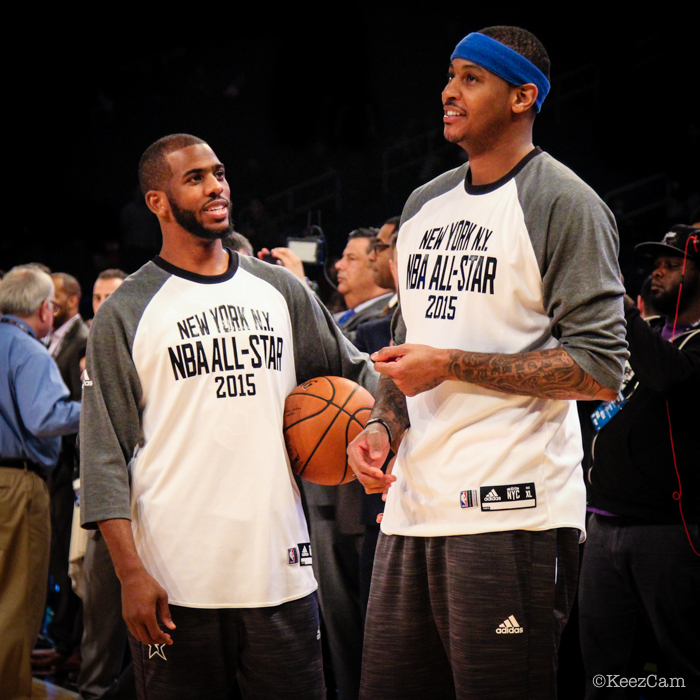 Chris Paul & Carmelo Anthony