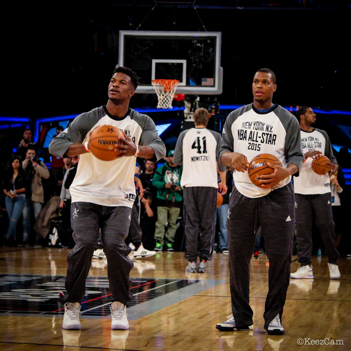 Jimmy Butler & Kyle Lowry