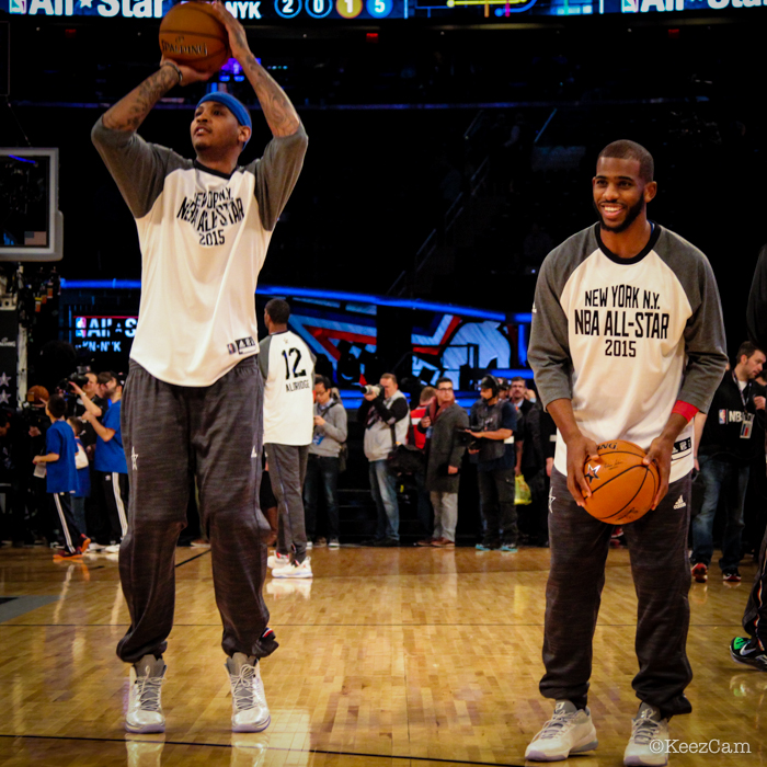 Carmelo Anthony & Chris Paul