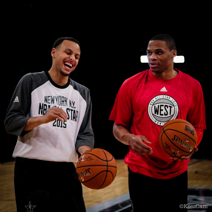 Stephen Curry & Russell Westbrook