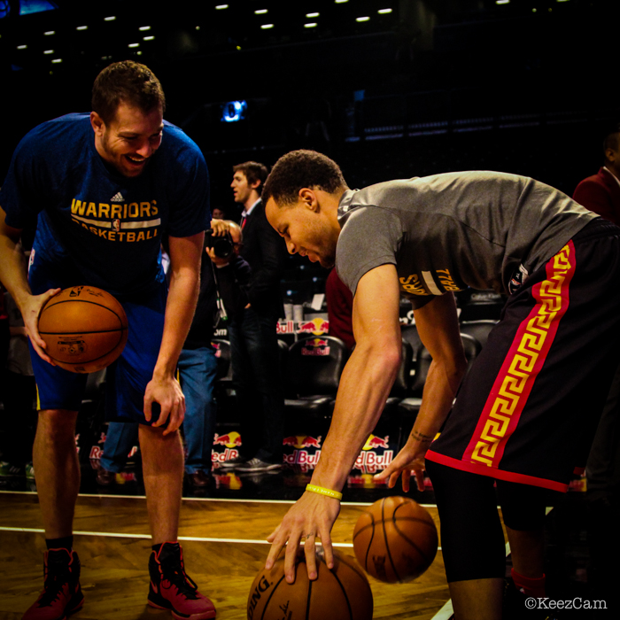 David Lee & Stephen Curry