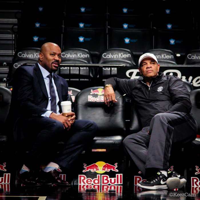 Billy King & Lionel Hollins