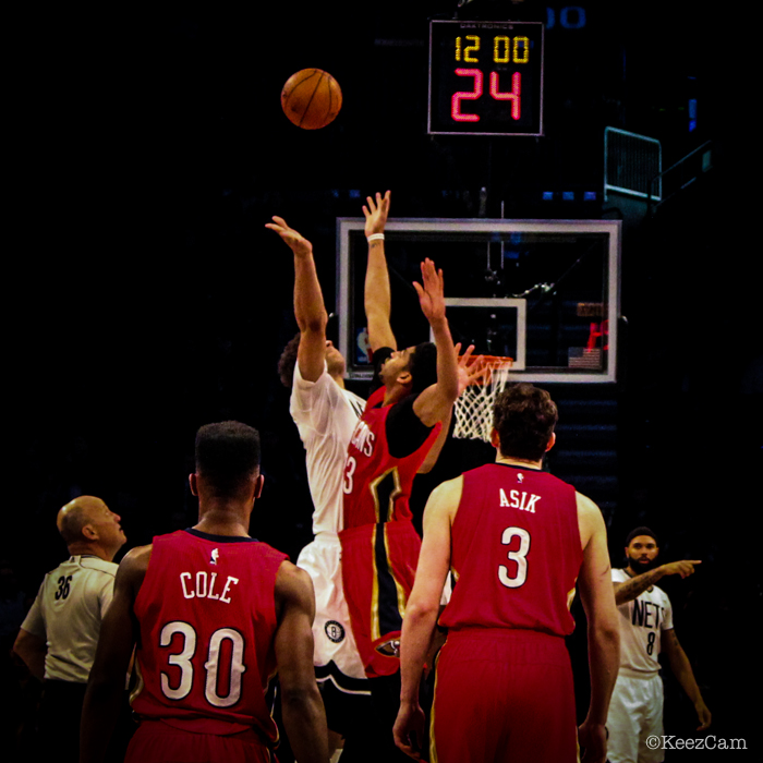 Brook Lopez & Anthony Davis