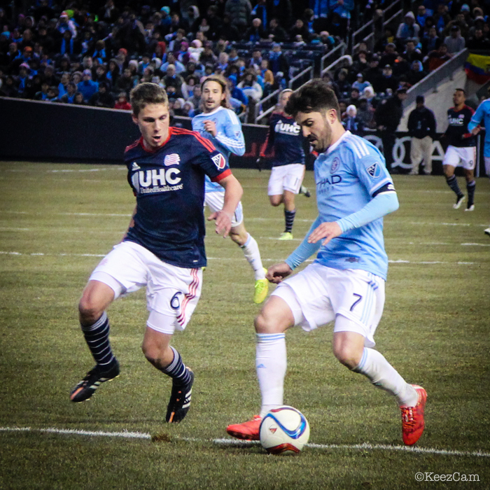Scott Caldwell & David Villa