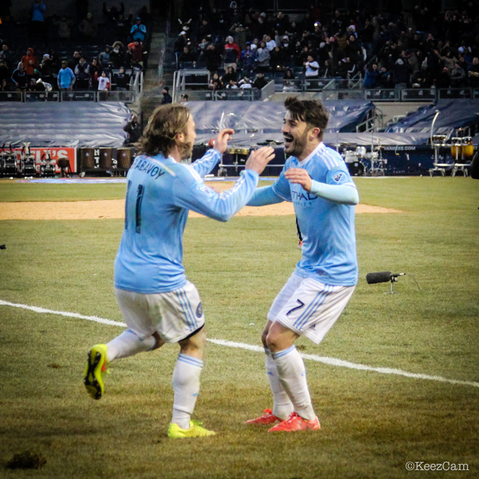 Ned Grabavoy & David Villa