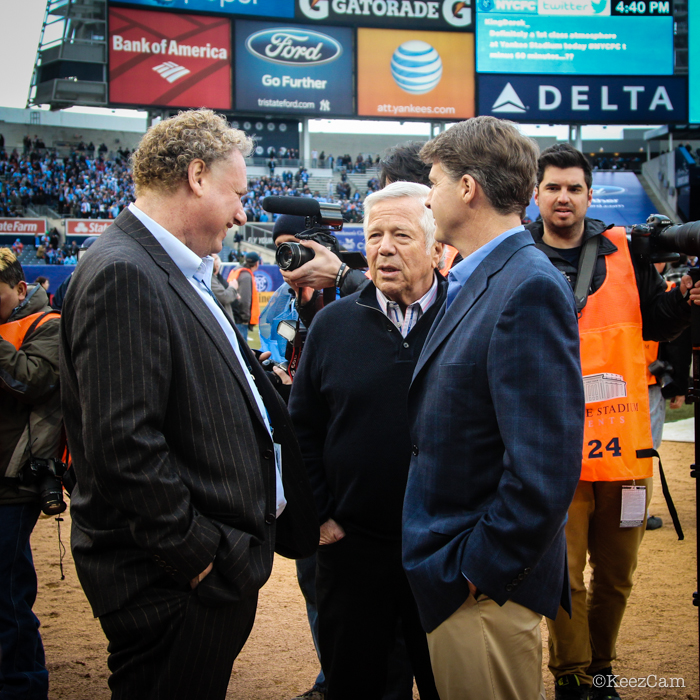 Randy Levine, Robert Kraft & Hal Steinbrenner
