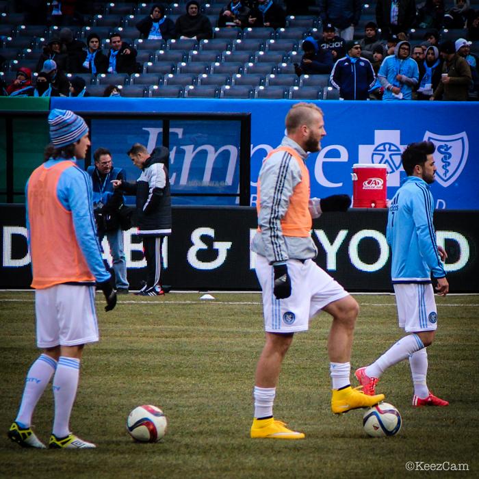 Ned Grabavoy, Josh Saunders & David Villa