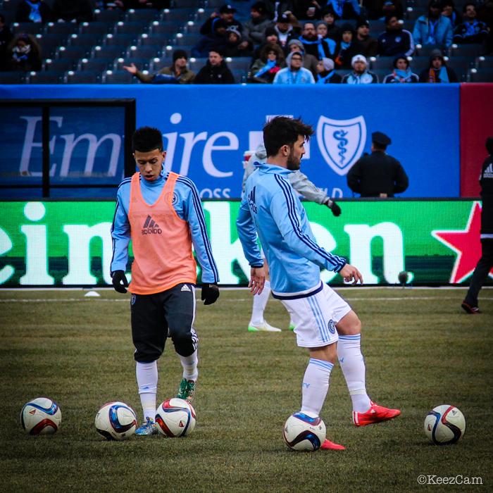 Sebastian Velasquez & David Villa