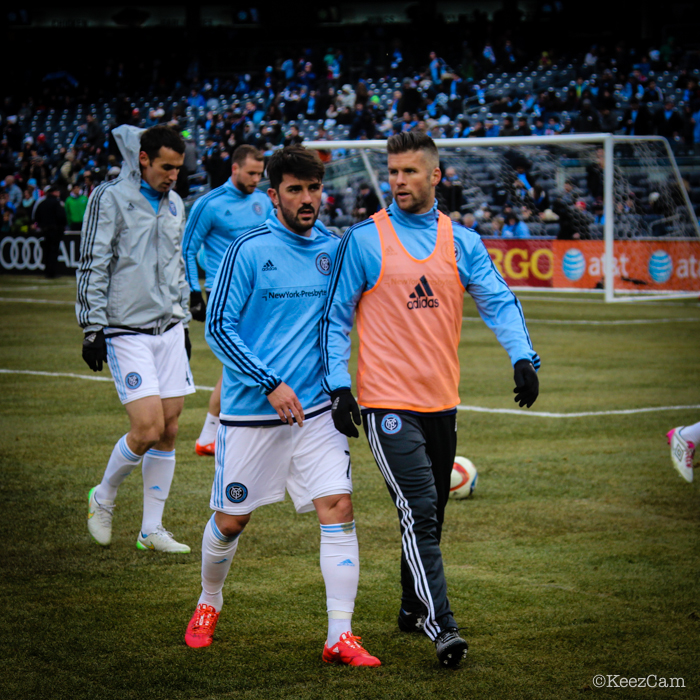 David Villa & Chris Wingert