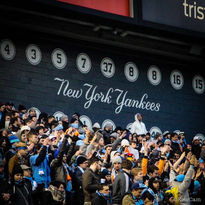 NYCFC Bleacher Creatures