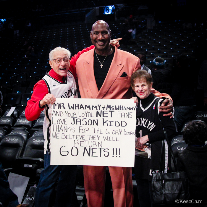 "Mr. & Mrs. Whammy & ""Chocolate Thunder"" Darryl Dawkins"