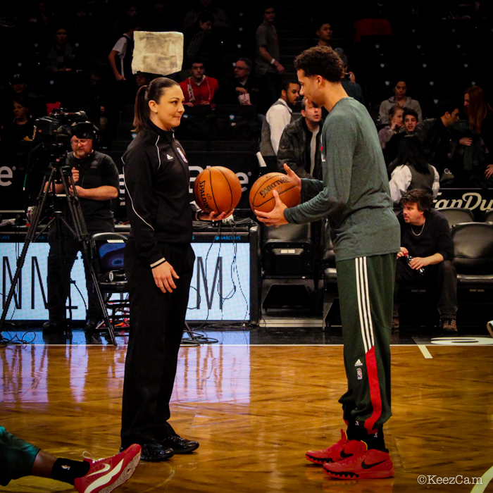 Lauren Holtkamp & Michael Carter-Williams