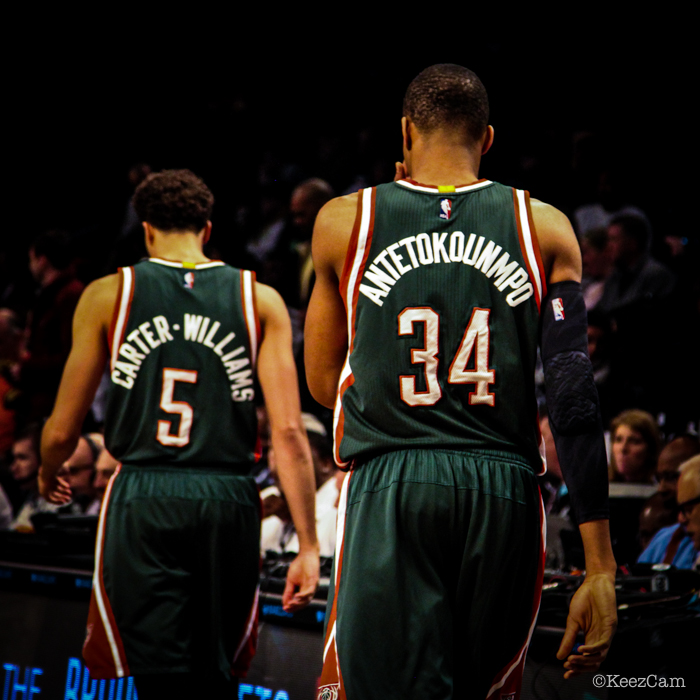 Michael Carter-Williams & Giannis Antetokounmpo