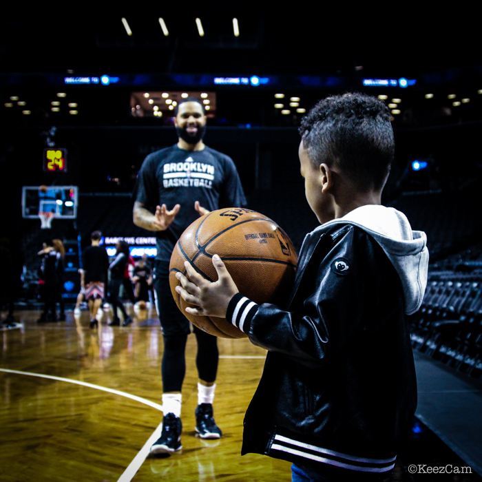 Cool Father & Son moment in Brooklyn