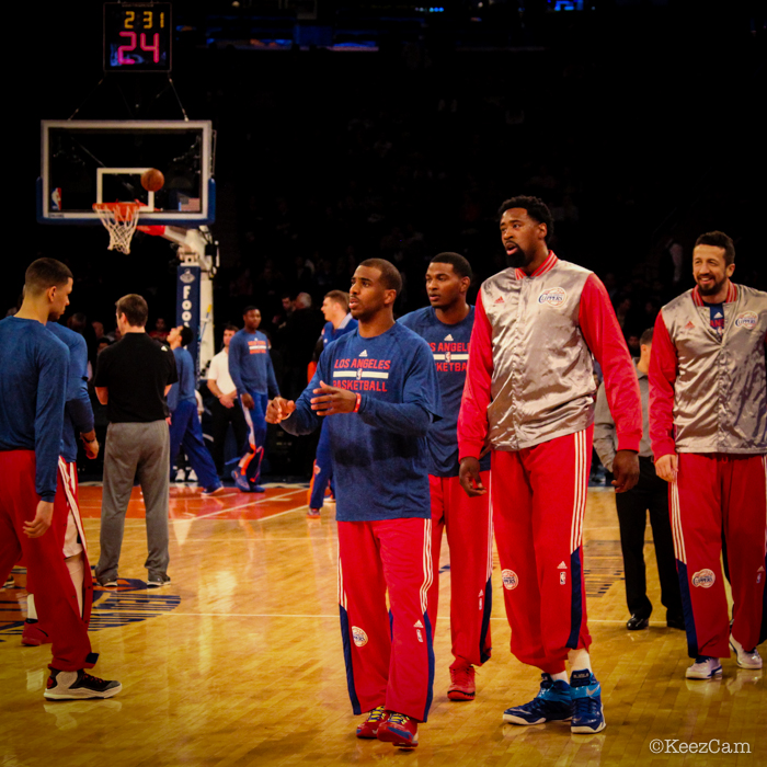 Chris Paul, DeAndre Jordan & Hedo Turkoglu