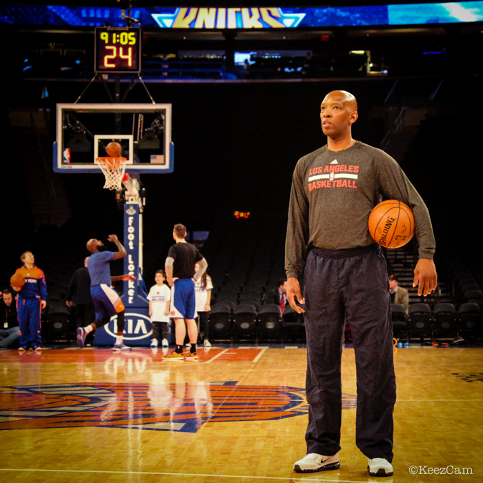 Los Angeles Clippers bench coach Sam Cassell having fond 1994 finals memories at Madison Square Garden