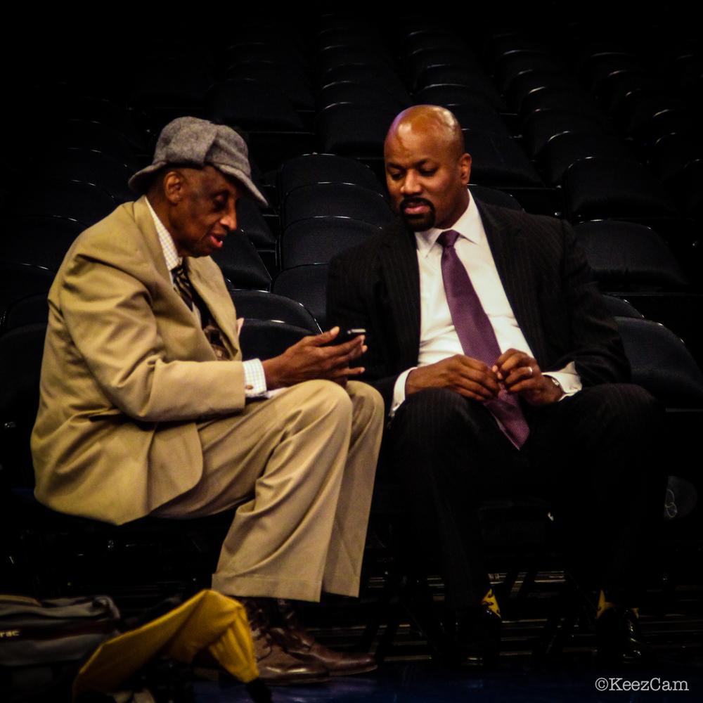 Dick Barnett & Billy King
