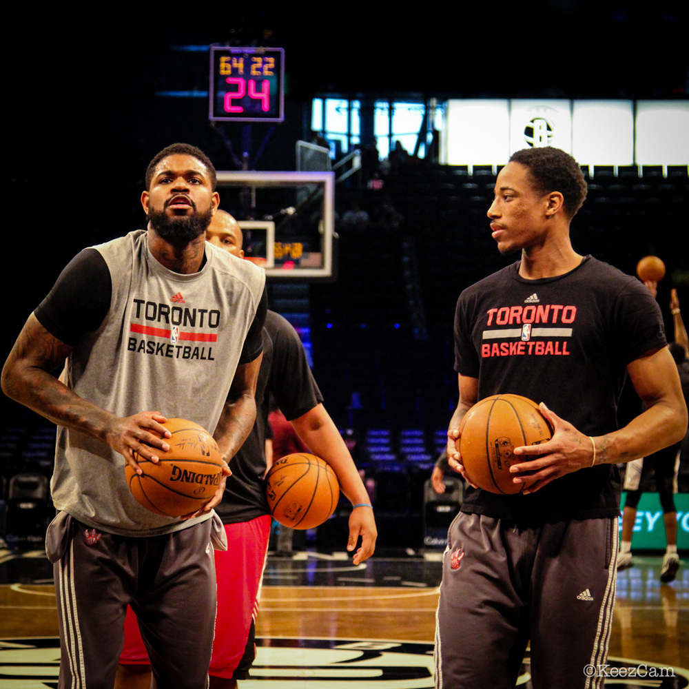 Amir Johnson & DeMar DeRozan