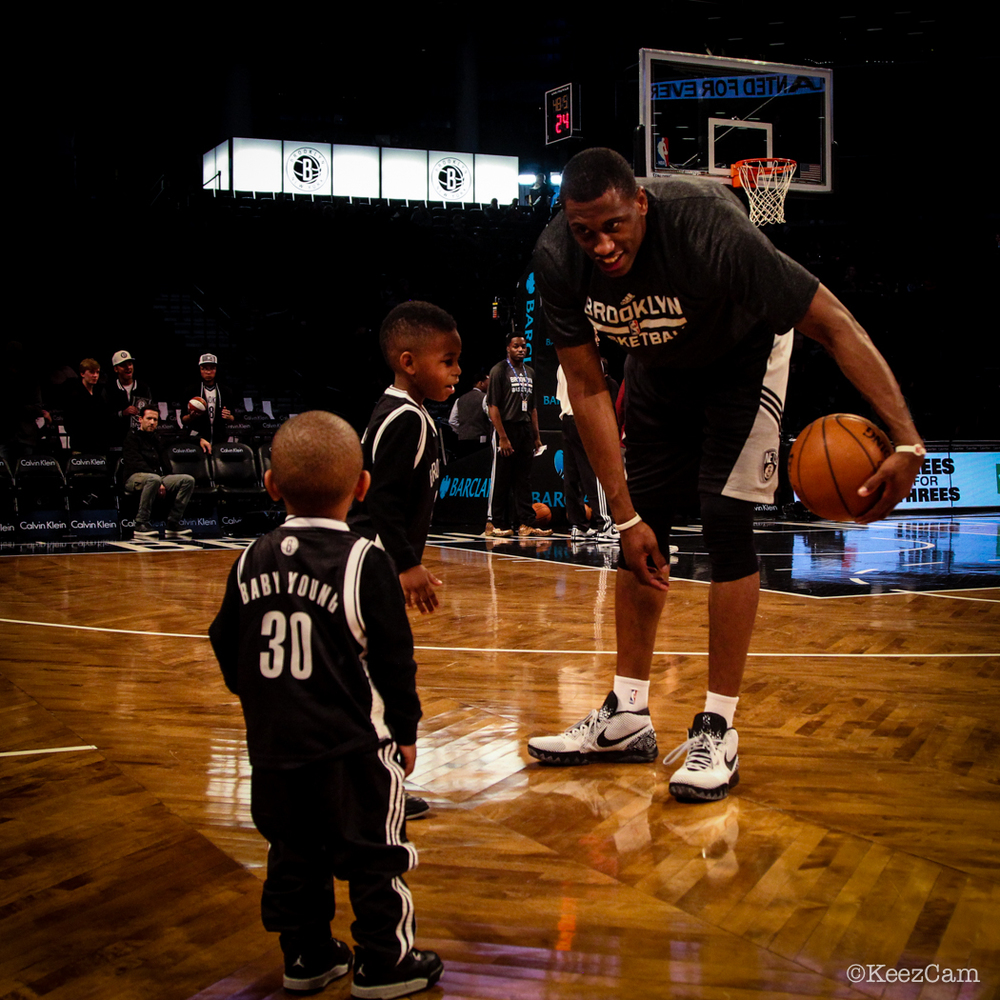 Father & Son moment in Brooklyn