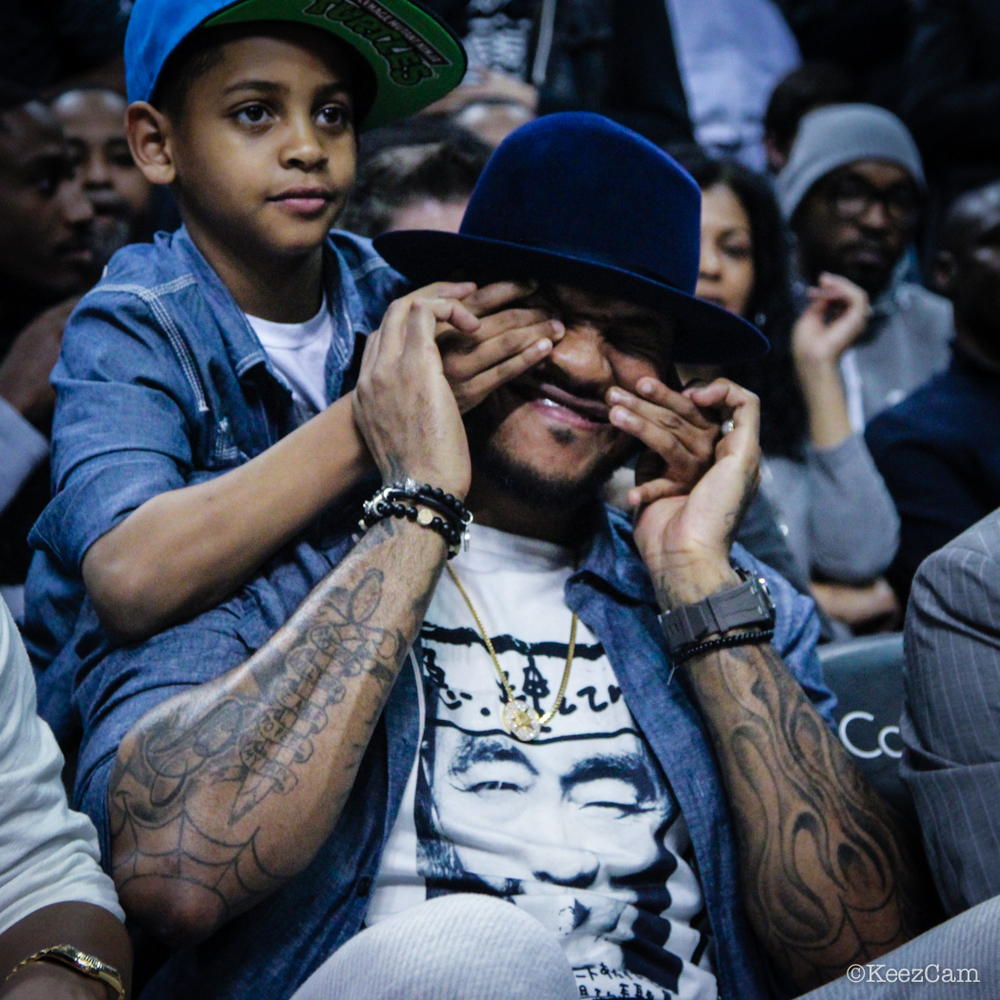 Kiyan & Carmelo Anthony