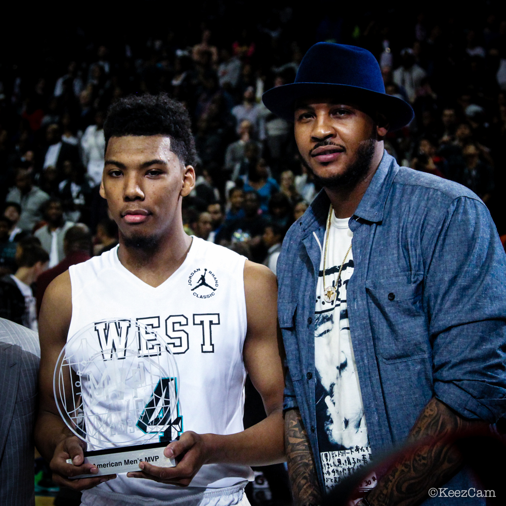 Allonzo Trier & Carmelo Anthony