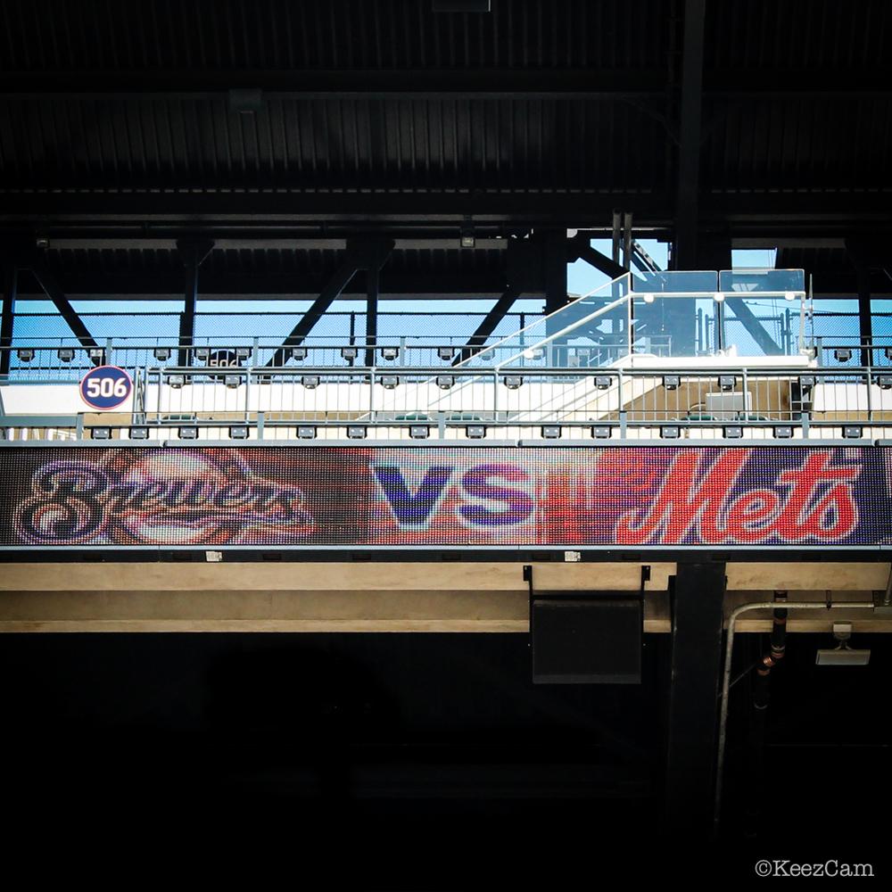 Brewers vs. Mets