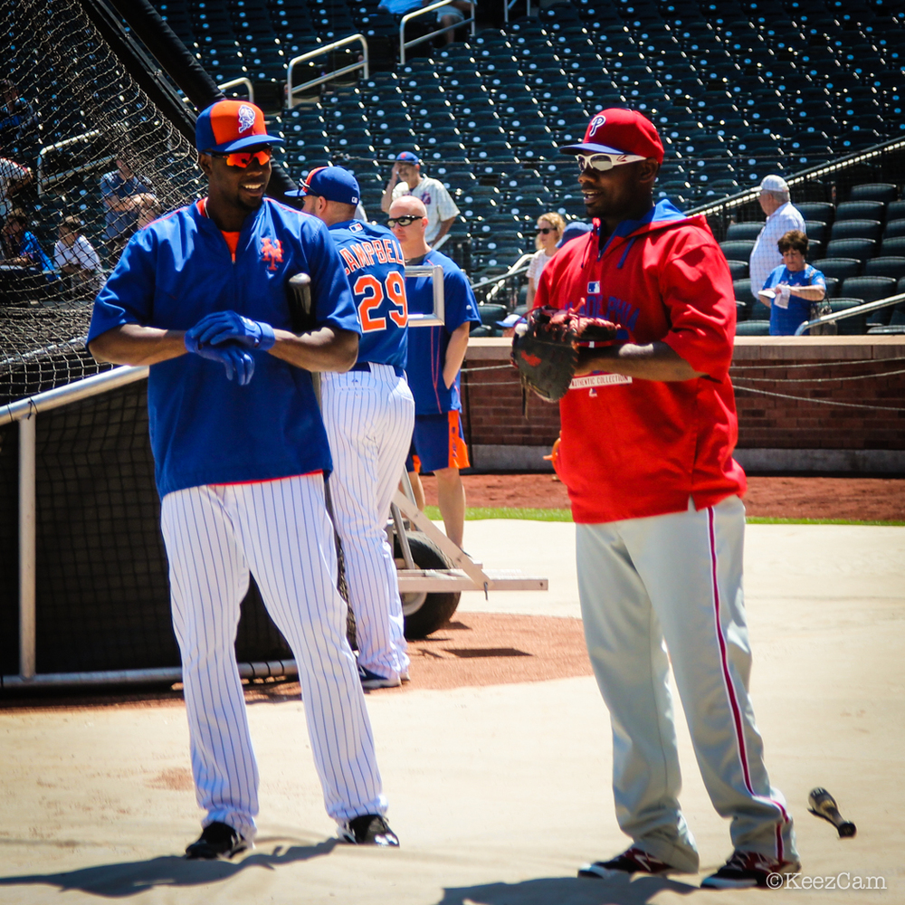 John Mayberry Jr. & Ryan Howard