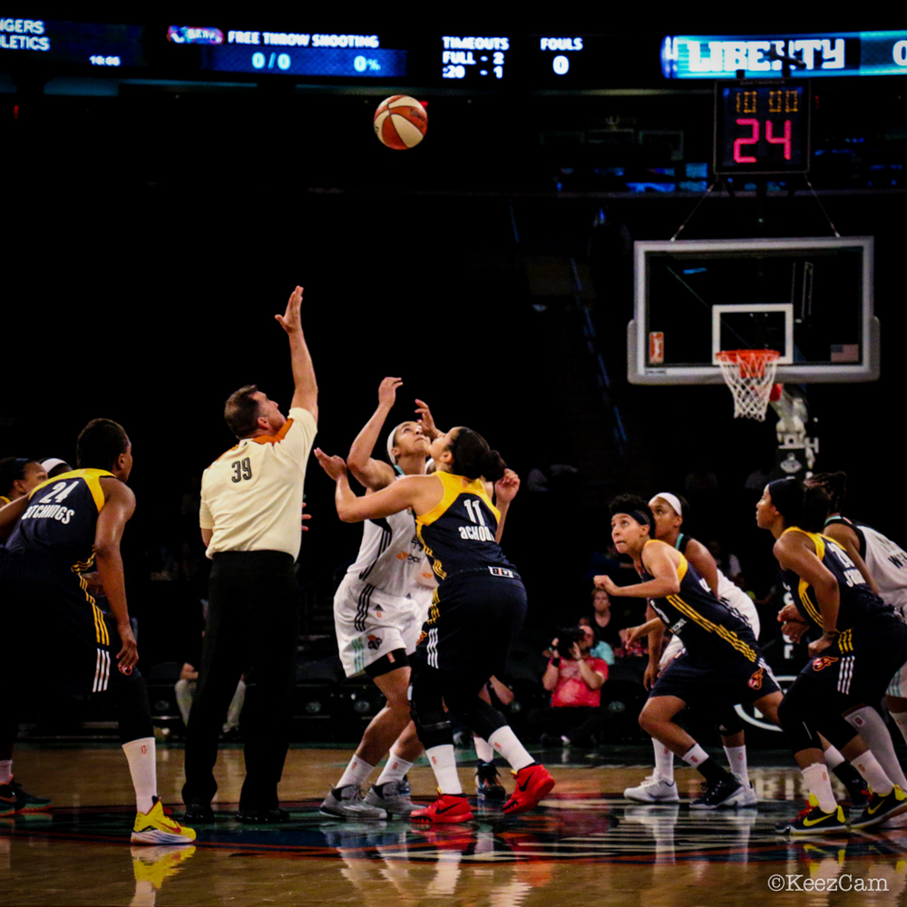 Indiana Fever & New York Liberty Tip-off