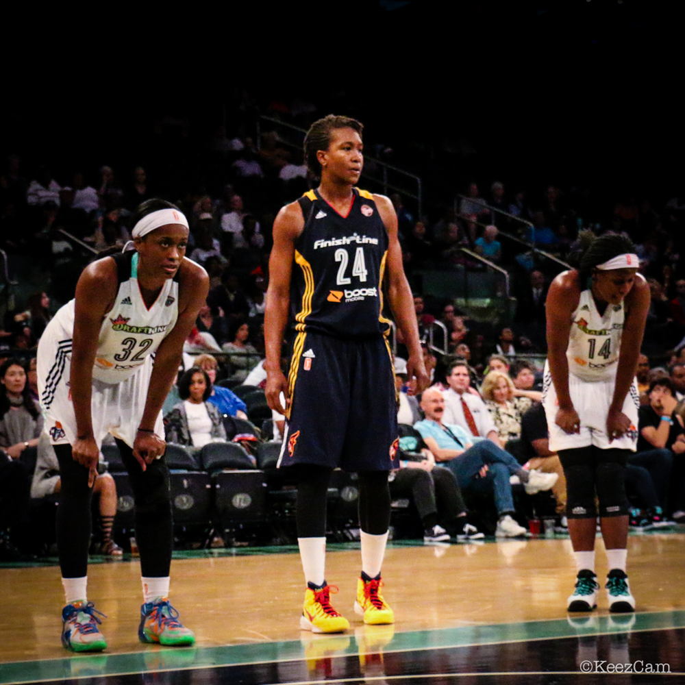 Swin Cash, Tamika Catchings & Sugar Rodgers