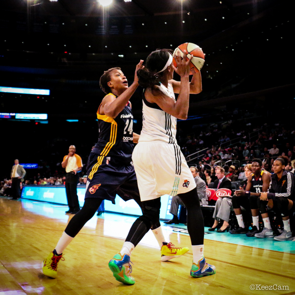 Tamika Catchings & Swin Cash