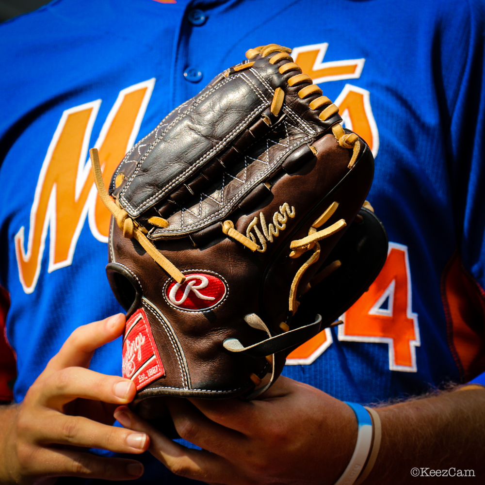 New York Mets P Noah Syndagaard but every 5th day they call him Thor