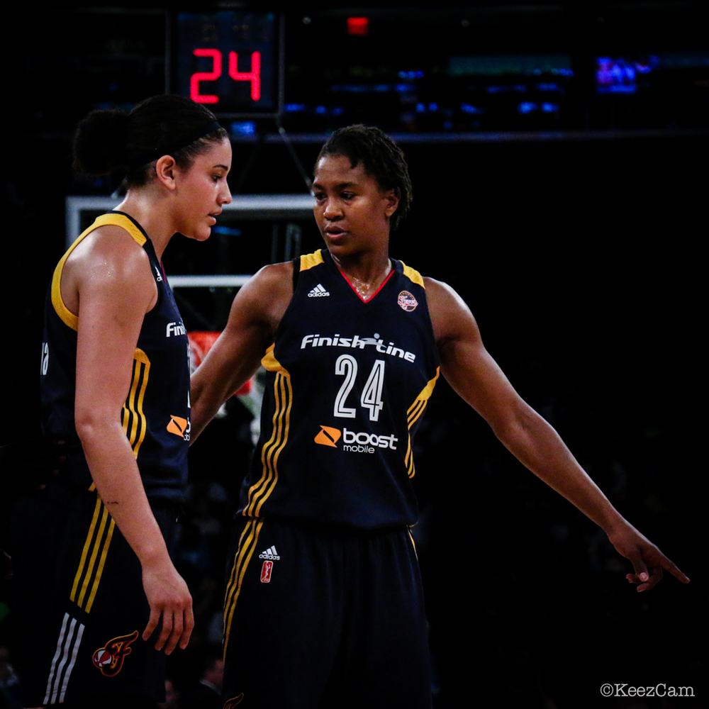 Natalie Achonwa & Tamika Catchings