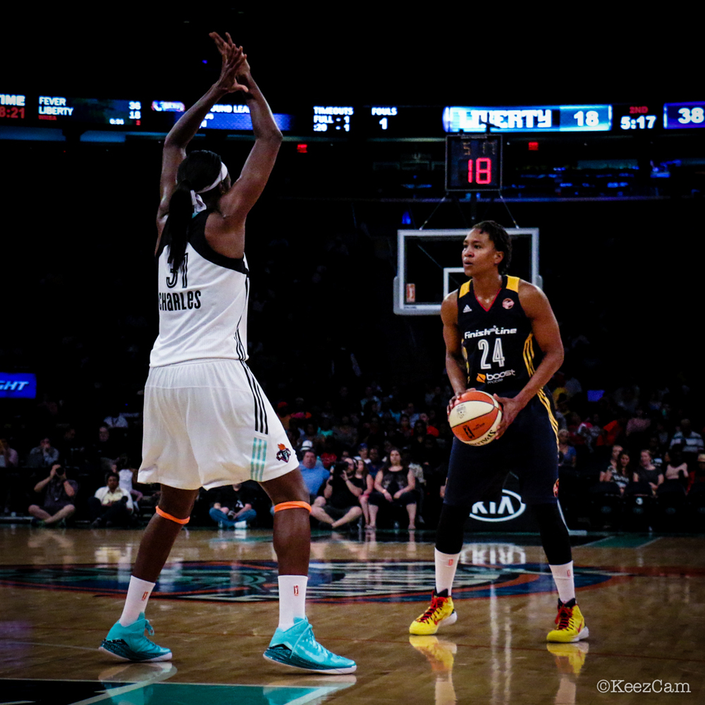 Tina Charles & Tamika Catchings