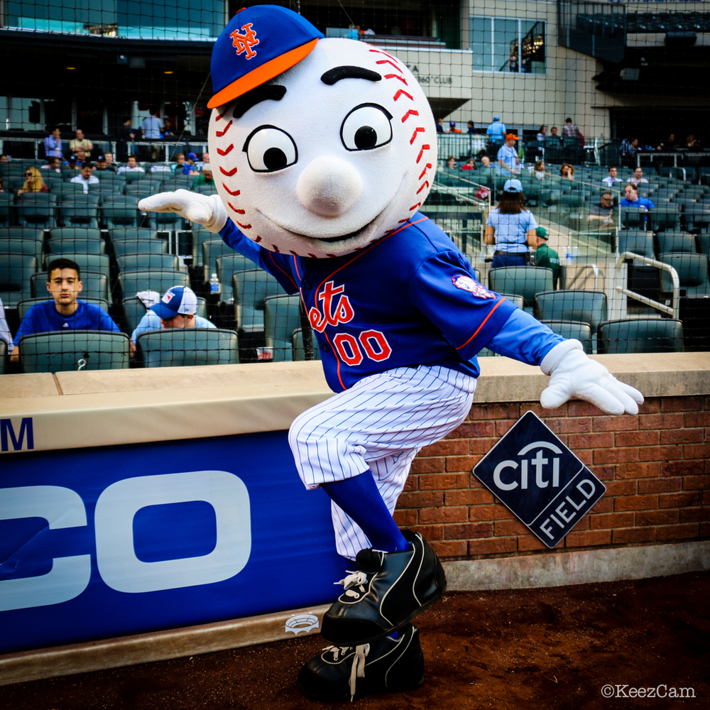 Mr. Met styling for the Keezcam