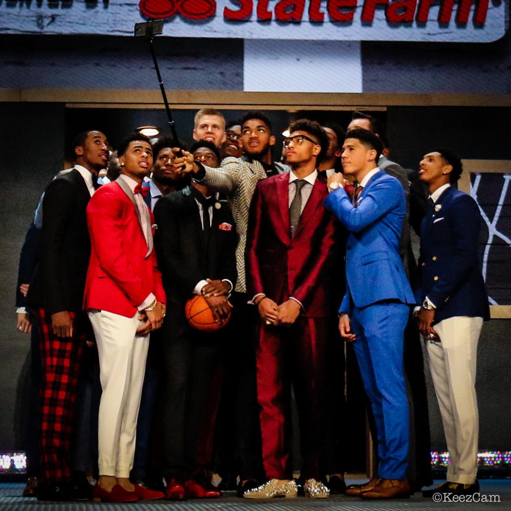 2015 NBA Draft Selfie
