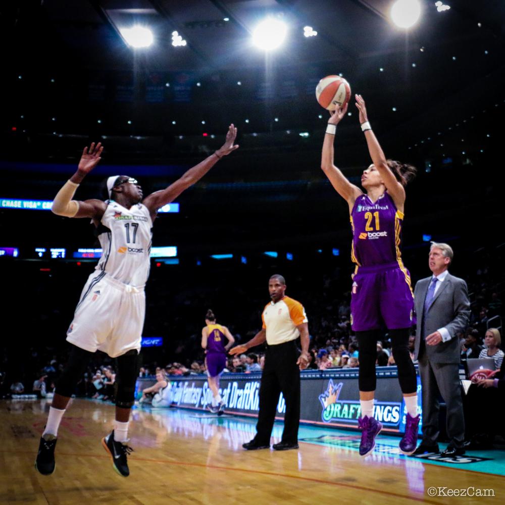 WNBA Basketball at Madison Square Garden