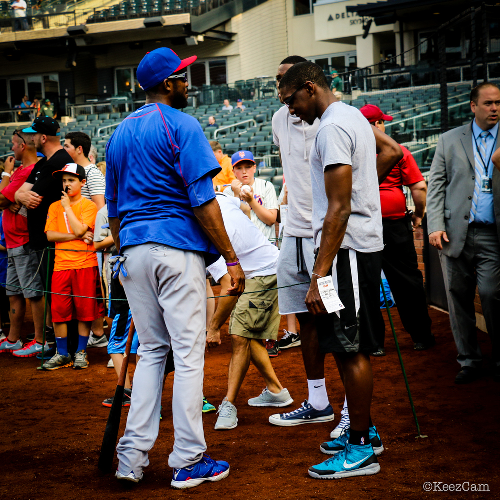 Dexter Fowler, Langston Galloway & Thanasis Antetokounmpo