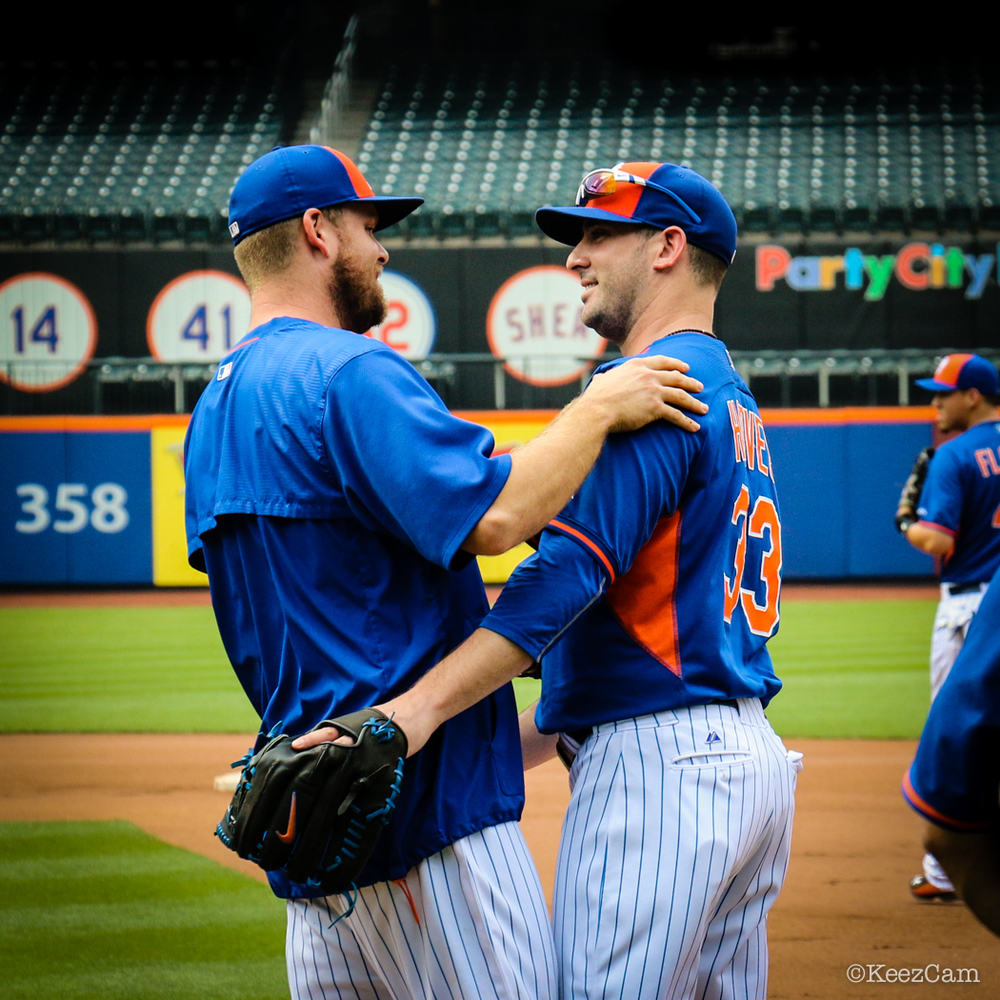 Lucas Duda & Matt Harvey
